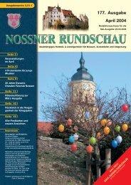 177. Ausgabe April 2004 - Nossner Rundschau