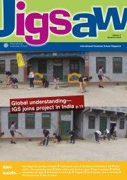 Jigsaw Semester 2 2012 - International Grammar School