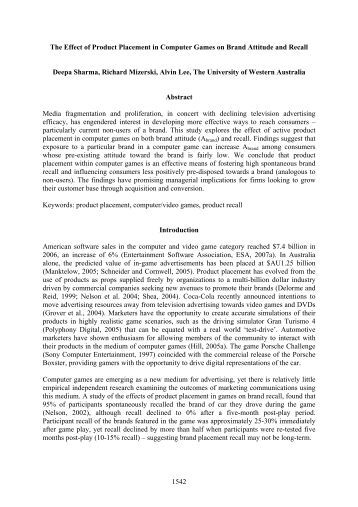 introduction the effect of computer games Introduction one of the very objective of this study is investigation of effect of educational computer games on creativity of students research methodology.
