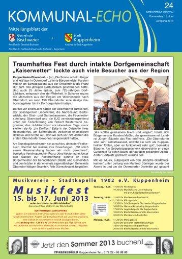 2013-24 - Stadt Kuppenheim