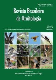 Avifauna of the Juruti Region, Pará, Brazil - Sociedade Brasileira de ...