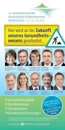 Zukunft unseres Gesundheits - Deutsche Apotheker