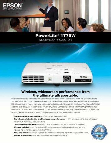 Powerlite® 1775W