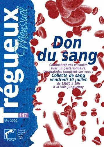 Collecte de sang vendredi 10 juillet - Trégueux