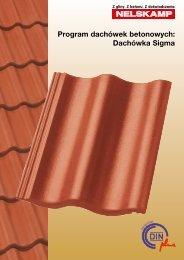 Program dachówek betonowych: Dachówka Sigma - Nelskamp