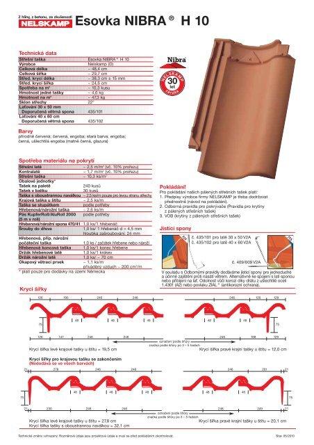 Esovka NIBRA® H 10 - Nelskamp