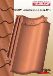 NIBRA® udubljeni utoreni crijep  H 14 - Nelskamp