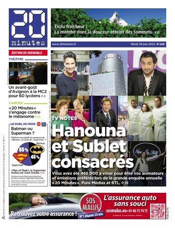 Hanouna et Sublet consacrés - 20minutes.fr