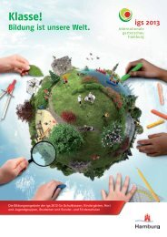 Bildung ist unsere Welt. - Internationale Gartenschau Hamburg 2013