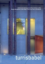 Preis/Premio - Kammer der Architekten - Ordine degli Architetti