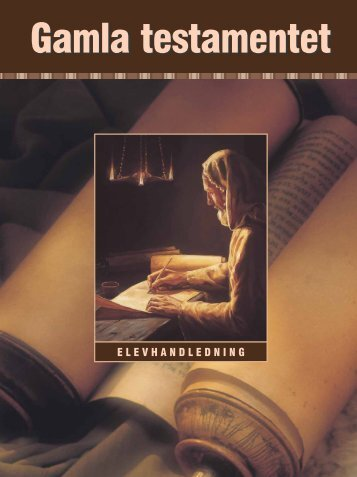 Elevhandledning för studium av Gamla testamentet