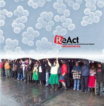 caravana por la vida y las bacterias - ReAct