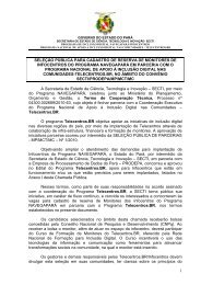Edital Monitor TELE_BR SET 002_2011 - secti - Governo do Estado ...