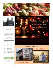 The Business Connection - Franklin Area Chamber of Commerce