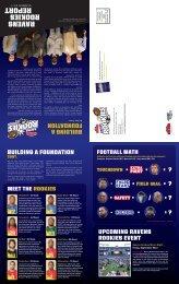 2011 Summer Ravens Rookies Newsletter
