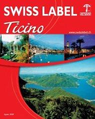 SWISS LABEL TICINO 05-2008-XP - Com Consulting SA