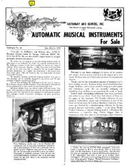 lUTOMATIC MUSICAL INSTRUMENTS - Please support publication ...