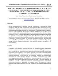 (JI-IRI), Vol 3, No 1 - Université de Montréal