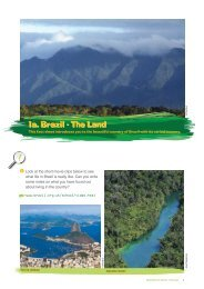 Fact sheet 1a - Brazil: The Land