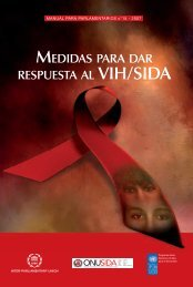 Medidas para dar respuesta al VIH y al SIDA - unaids