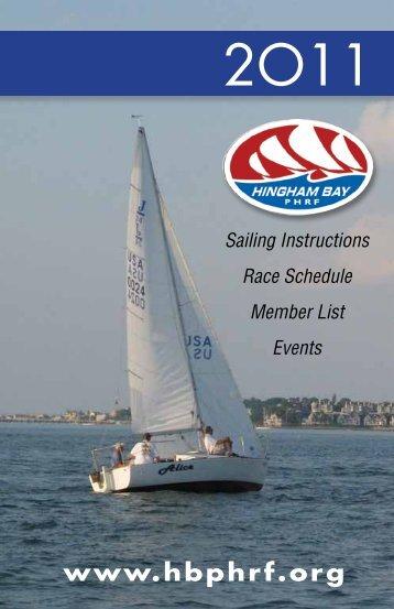 Race Committee Procedures - HB Racing