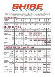 Shire Pricelist (PDF) - EP Barrus