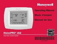 VisionPRO® IAQ Operating Manual Mode d'emploi Manual de Uso