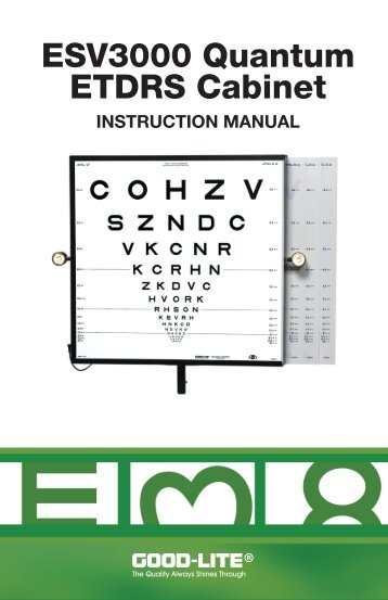 e4b7ea6919f Near Distance Vision Screening Kit - PDF - Good-Lite Company