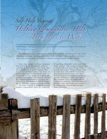Self-Help Virginia - National Environmental Services Center