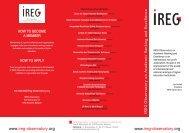 foldereg IREG GA Paryz_folderek maly 2 - International Observatory ...