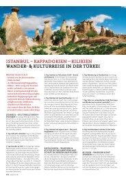 iStanbul – KappadoKien – KiliKien Wander ... - SKR Reisen