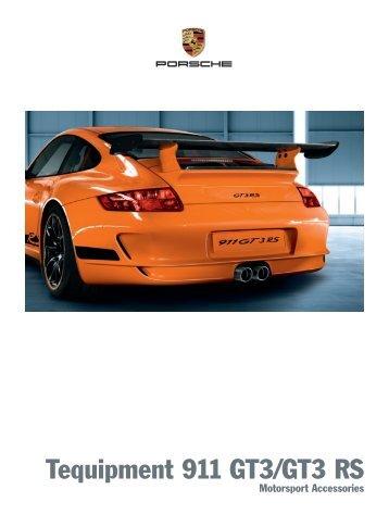 Tequipment 911 GT3/GT3 RS