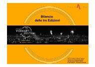 BILANCIO FESTARTE VIDEOART FESTIVAL DELLE TRE EDIZIONI-3