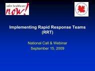 National Call RRT - Presentation Sept 15, 2009 v1 - Communities of ...