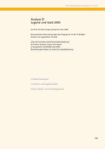 Jugend und Geld (PDF, 95 KB) - SCHUFA-Kredit-Kompass.de