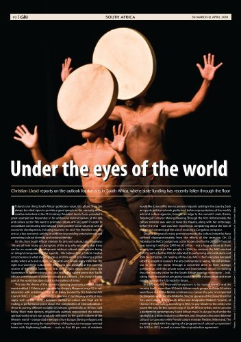 Under the eyes of the world Under the eyes of the world