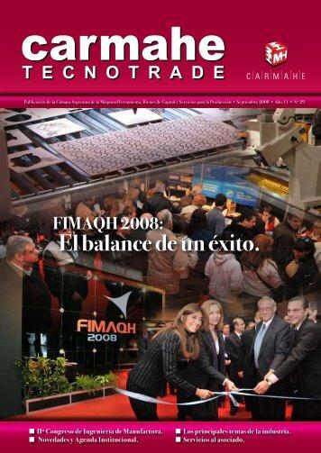 FIMAQH 2008: El balance de un éxito. - CARMAHE