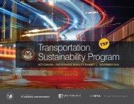 Ed Reiskin - Transportation Sustainability Program - ACT Canada
