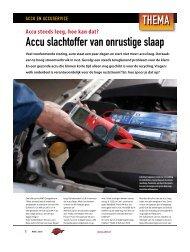 Accu Slachtoffer - AMT.nl