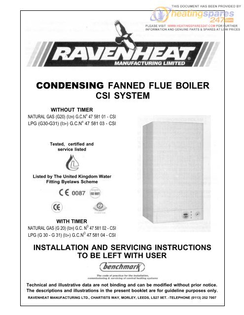 15mm Ravenheat Thermostatic Radiator Valve