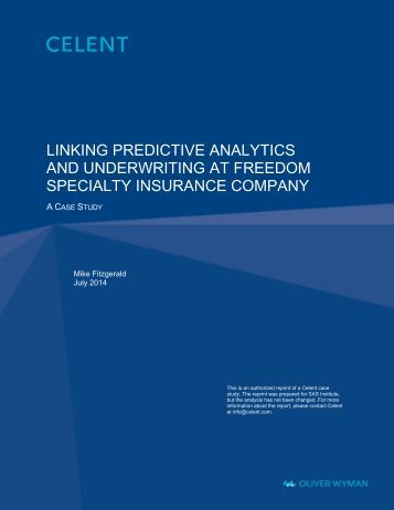 insurance case study See how sg analytics deployed a logistic regression model to enhance revenue growth opportunities through effective cross-selling and superior targeting.
