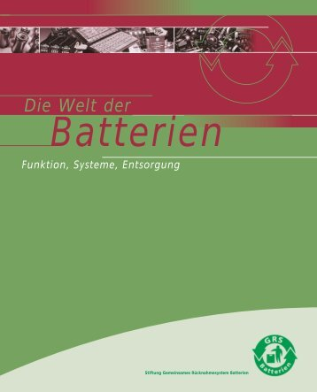 Die Welt der Batterien - Jauch Batteries
