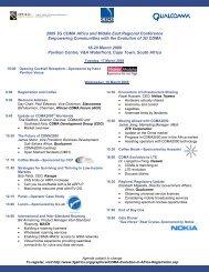 Cape Town Agenda Mar 5 2009.pub - CDMA Development Group