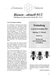 Bienen-aktuell Nr. 11 - Liechtensteiner Imkerverein
