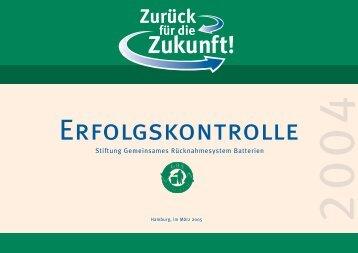Stiftung Gemeinsames Rücknahmesystem Batterien - GRS-Batterien