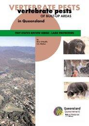 Vertebrate pests of built-up areas in Queensland - Department of ...
