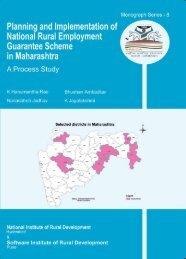 Maharastra - National Institute of Rural Development