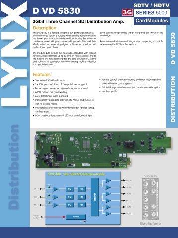D VD 5830 Rev 1.3.indd - LYNX Technik AG