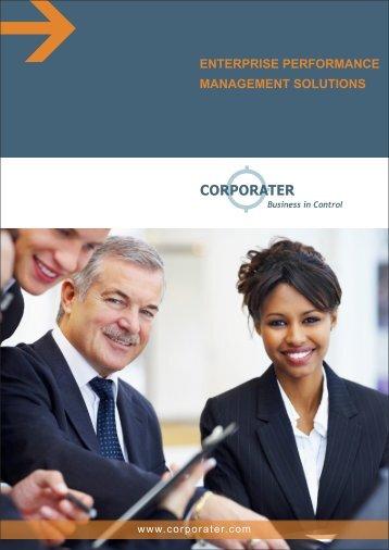 enterprise performance management solutions - Corporater