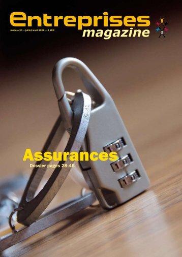 Assurances - Entreprises magazine